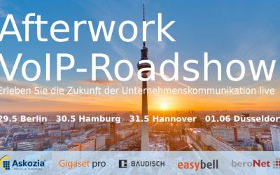 Afterwork VoIP-Roadshow