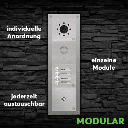 Türsprechstelle Kategorie Modular